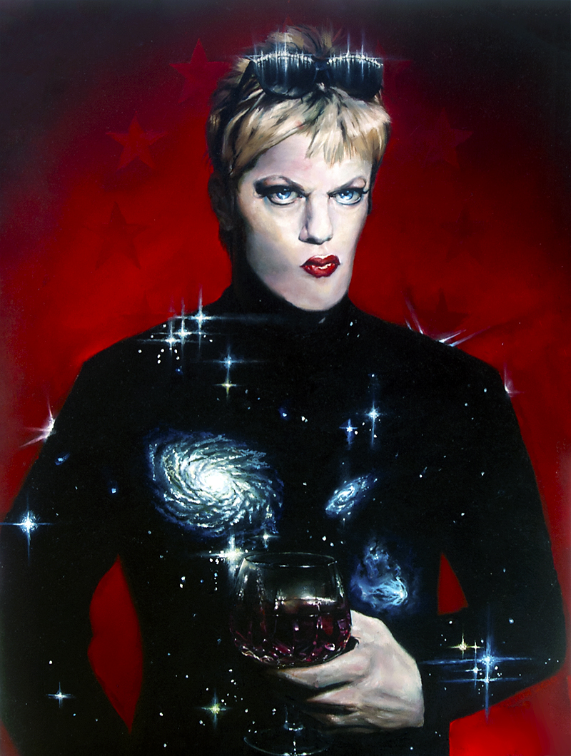 Cosmopolitan Portrait of Eddie Izzard